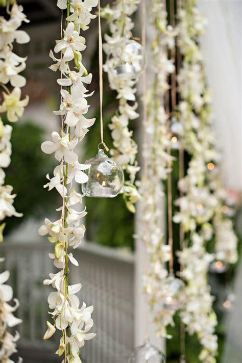 strings  flowers october  hanging flowers