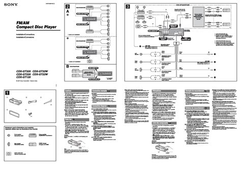 sony cdx 610 wiring diagram 27 wiring diagram images