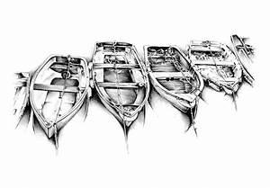 Dessin Fait Main : dessin moteur de mer antique de bateau fait main illustration stock illustration du mouette ~ Dallasstarsshop.com Idées de Décoration