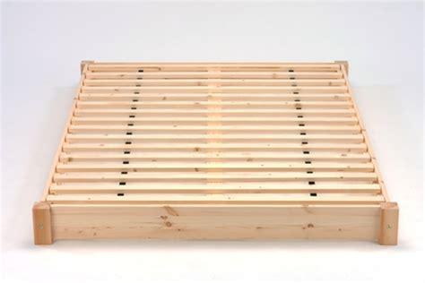 floor level bed frame kochi low level pine futon bed frame
