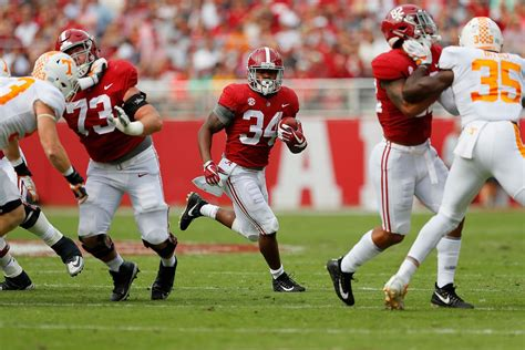alabama  tennessee  time tv listings odds preview team speed kills