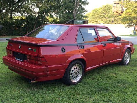 No Reserve: 34k-mile 1988 Alfa Romeo Milano Verde