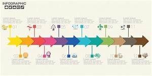 12 Step Of Timeline Infographics Template With Options