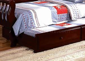 cm1625ch charlotte daybed in cherry w optional trundle With charlotte daybed with trundle