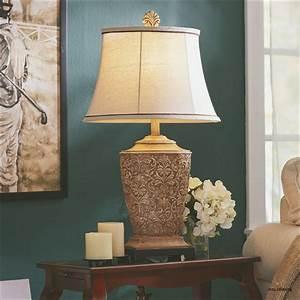Elegant, Living, Room, Table, Lamps, U2013, Modern, House