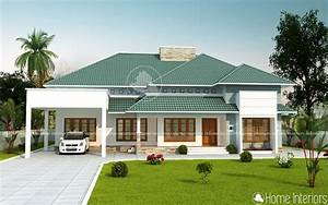 2500, Square, Feet, Double, Floor, 4, Bhk, Modern, Home, Designs