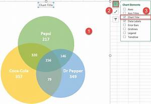 How To Create Venn Diagram In Excel