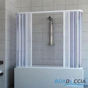 Paroi De Douche Amovible : pare baignoire cabine pvc paroi douche pliante plastique couleurs sur mesure ebay ~ Melissatoandfro.com Idées de Décoration
