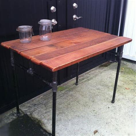 iron pipe desk plans diy industrial pallet pipe desk 101 pallets