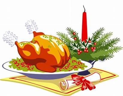 Christmas Lunch Dinner Clip