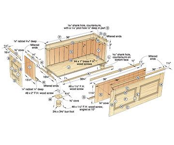 garden woodworking plan