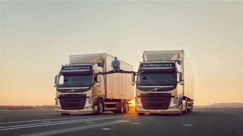 volvo truck advert jean claude van damme volvo truck