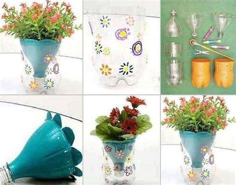 Bastelideen Mit Pet Flaschen Fuer Diy Blumentoepfe by Bastelideen Mit Pet Flaschen F 252 R Diy Blument 246 Pfe Garten