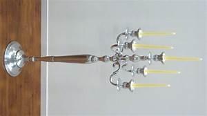 5 Armiger Kerzenleuchter : 5 armiger 100 cm standleuchter kerzenleuchter kandelaber mehrarmig silber ebay ~ Frokenaadalensverden.com Haus und Dekorationen