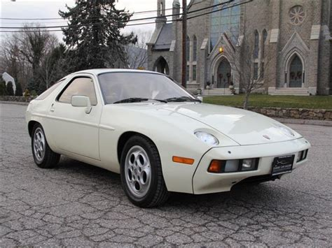 porsche 928 white 1981 porsche 928 20 556 miles white coupe 5 speed manual