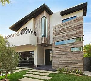 reclaimed wood and white stucco exterior | design house ...