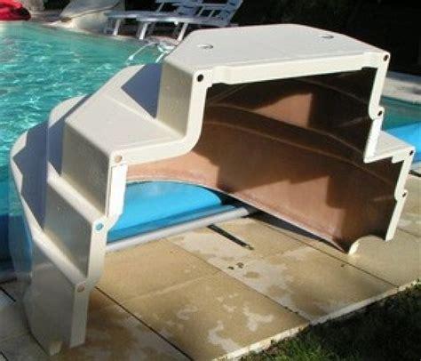 escalier piscine d angle cyb 232 le hauteur 120cm