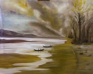 Tableau Peinture Sur Toile : tableau peinture a l huile sur toile ~ Teatrodelosmanantiales.com Idées de Décoration