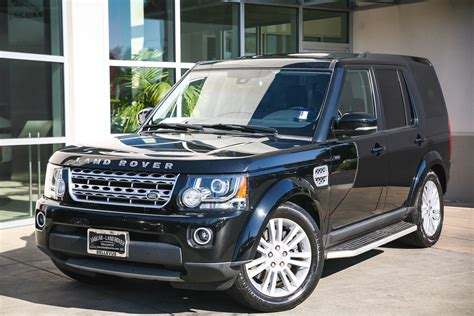 certified pre owned  land rover lr lux sport utility