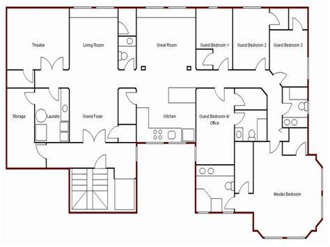create simple floor plan simple house drawing plan basic