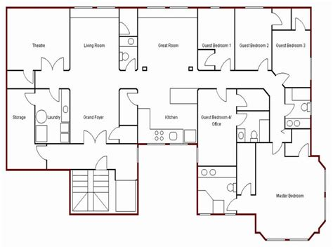 basic floor plans create simple floor plan simple house drawing plan basic