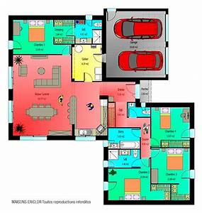 les 25 meilleures idees de la categorie plan maison plain With nice idee de plan de maison 6 maison contemporaine moderne et design d architecte