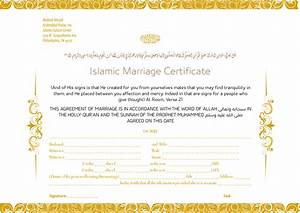 Islamic marriage certificate by zakdesign on deviantart for Islamic marriage certificate template