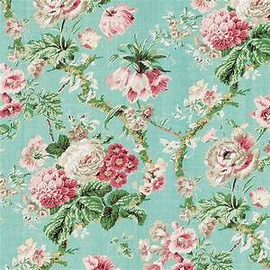 Vintage Floral Wallpaper | To show so-&-so... | Pinterest ...