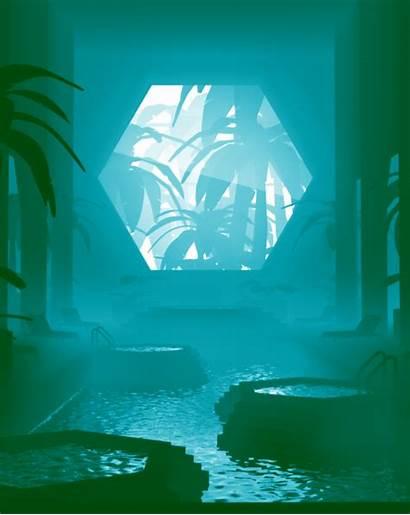 Sci Fi Burton Carl Monochromatic Animations Gifs