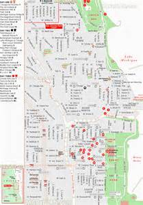Chicago Tourist Attractions Map