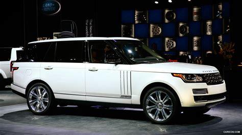 2014 Range Rover Autobiography Black Long Wheelbase Side