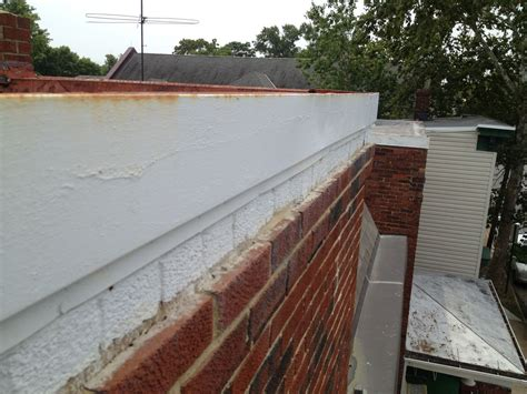 Roof Cornice - flat roof replacement and metal cornice lyons contracting