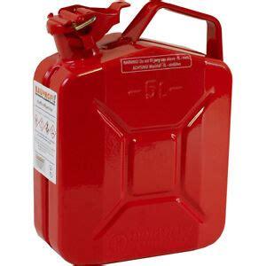 5 liter benzinkanister 5 liter stahlblechkanister rot mit sicherung ggvs metallkanister benzinkanister ebay