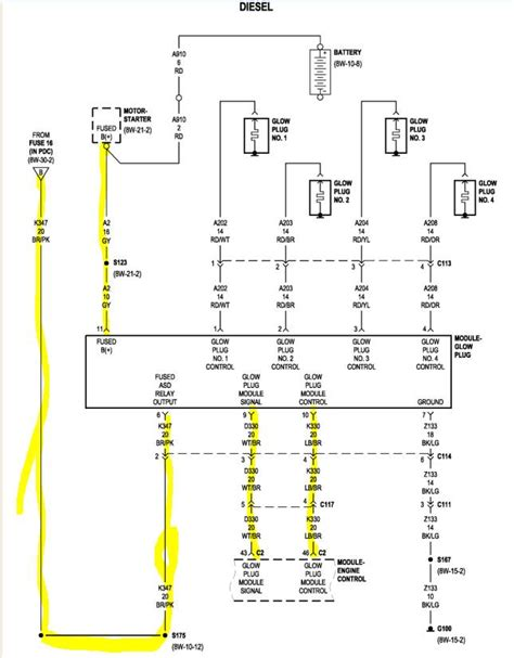 Ignition Wiring Diagram For Jeep Liberty Circuit