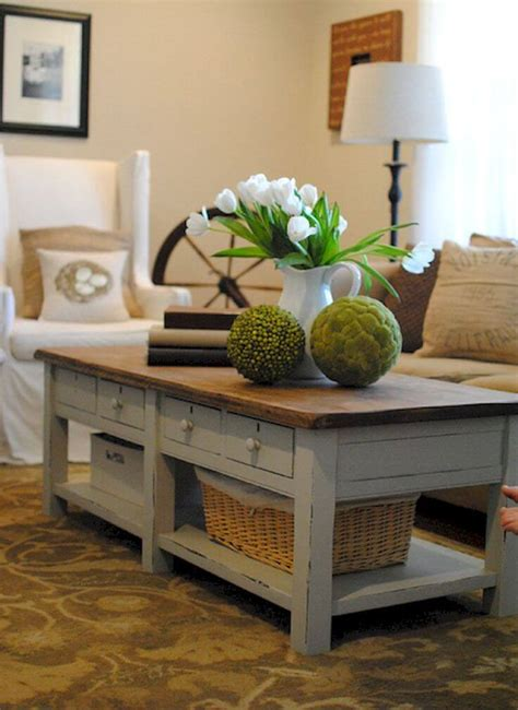 Farmhouse coffee table diy plans from farmhouse on boone. 25 Best DIY Farmhouse Coffee Table Ideas and Designs for 2020
