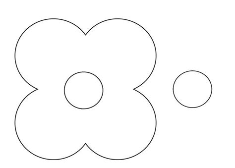 Printable poppy template costumepartyrun best 25 poppy template ideas on pinterest paper flowers maxwellsz