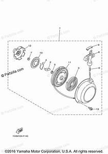 Yamaha Atv 2011 Oem Parts Diagram For Alternate For Engine