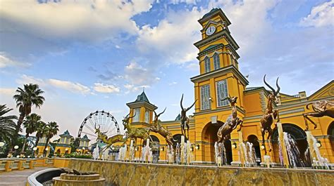 Gold Reef City Johannesburg  Theme Park And Attractions