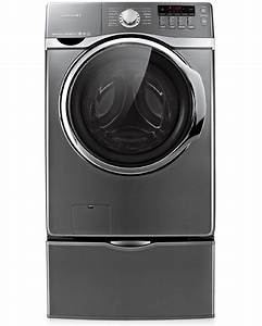 Samsung Front Load Washer 4 Cu  Ft  Wf405atpasu