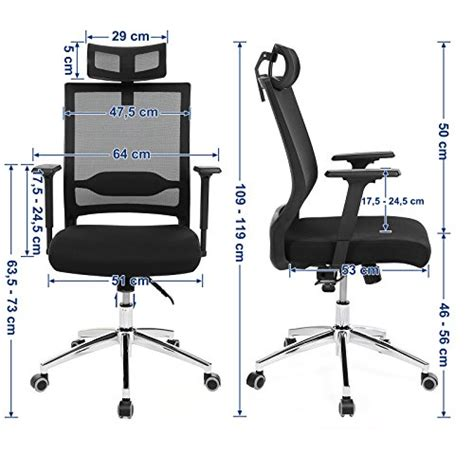fauteuil de bureau avec appui tete songmics fauteuil de bureau avec appui tête accoudoirs