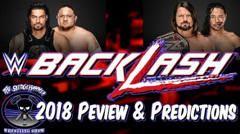 We did not find results for: WWE Backlash 2018 Full Match Card Preview & Predictions ...