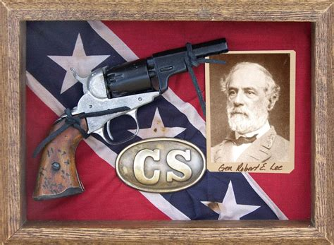 confederate pocket pistol shadow box gettysburg museum store