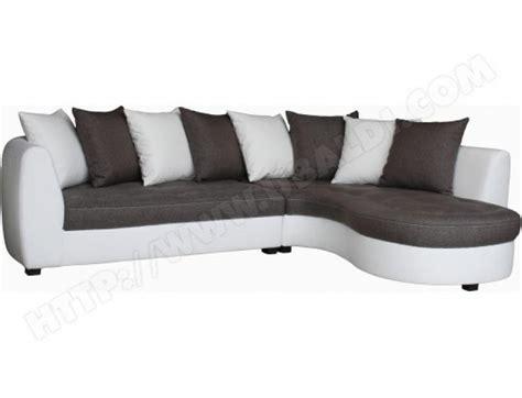 canape gris et blanc pas cher photos canap 233 gris et blanc pas cher