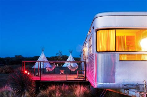 hotels  love el cosmico hotel  marfa texas dwell