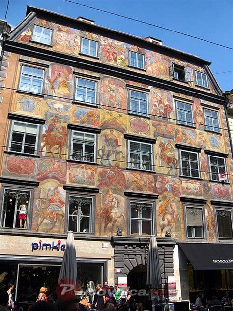 Graz  Gemaltes Haus  Galerije Slika Na Putovnicanet