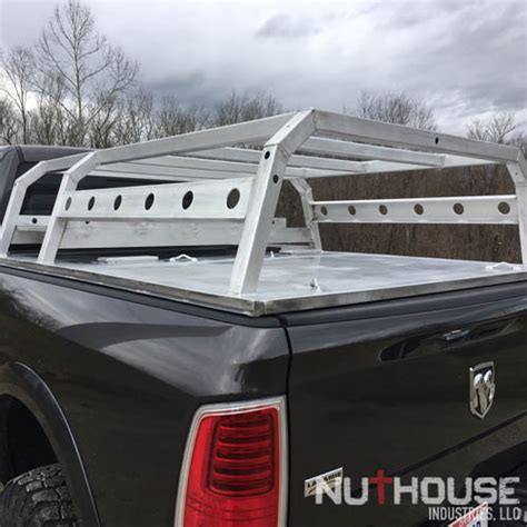 nutzo tech  series expedition truck bed rack nuthouse