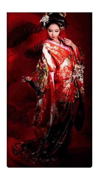 Kimono Japanese Traditional Geisha Japan Asian Dresses