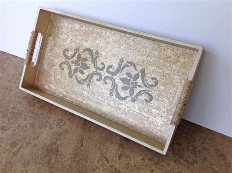 shabby chic trays wooden tray shabby chic chagne color