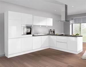 Erstaunliche ideen kuche weiss hochglanz grifflos und gute for Küche grifflos