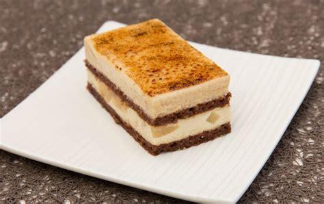 cuisine arrondi entremet poire caramel chocolat thermostat7